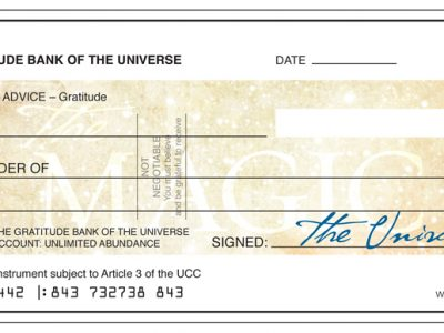 Magic Cheque