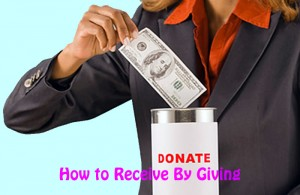 Receive By Giving