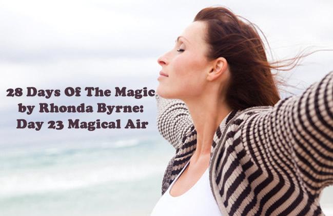 The Magic Day 23 Magical Air