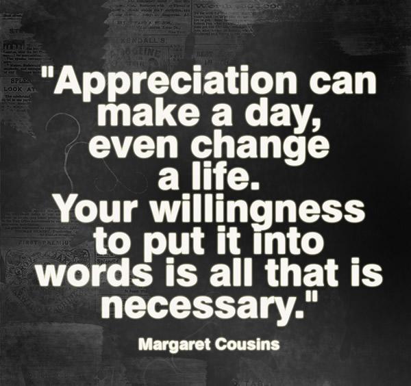 Appreciation Quotes | Appreciation Attracts Appreciation Quotes 03 Guide To Secret And