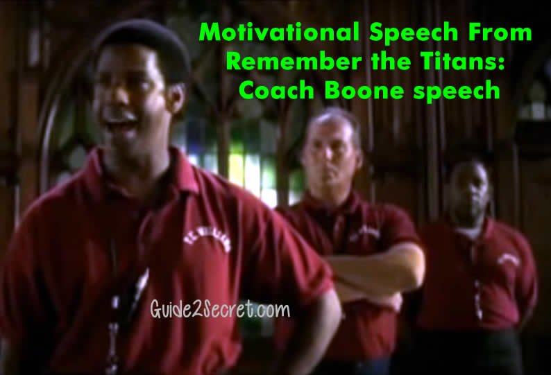 speech on remember the titans Full text and audio mp3 of movie remember the titans - gettysburg speech.