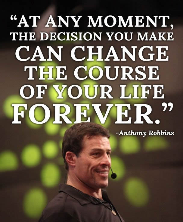 Anthony Robbins Quotes: 30 Life Transforming Quotes By Tony Robbins